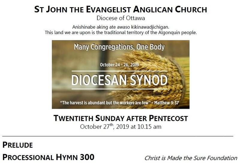 The Twentieth Sunday after Pentecost