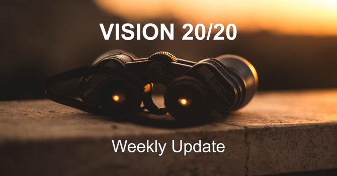 Vision 20/20 - Week 4/5 Status image