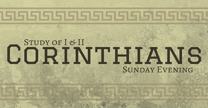 Corinthians - Part 57