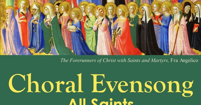 Choral Evensong for All Saints