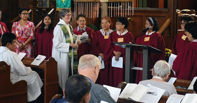 Episcopal Visit to St. Mary's, South Hill image