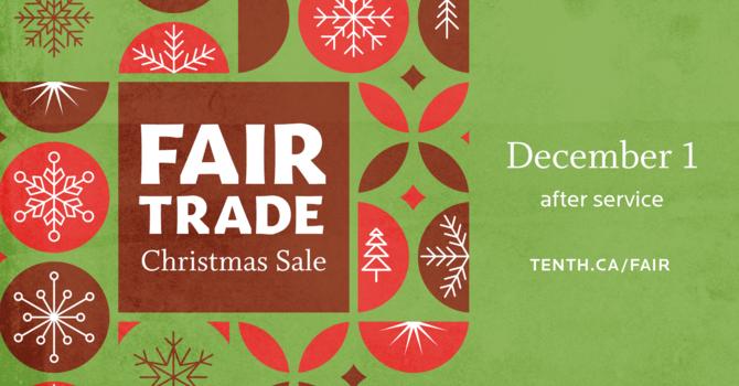 Fair Trade Christmas Sale