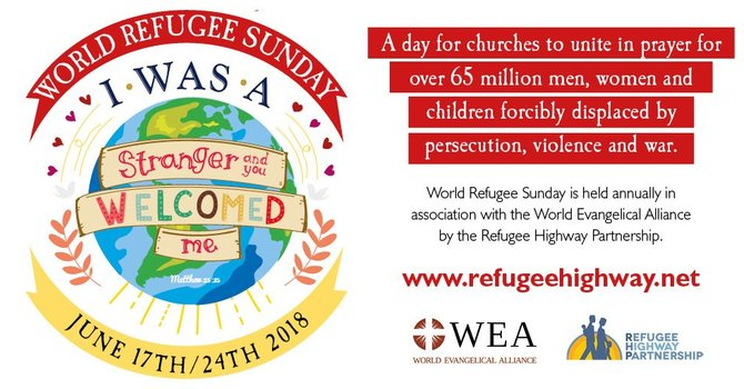 A Prayer for World Refugee Sunday 2018 image