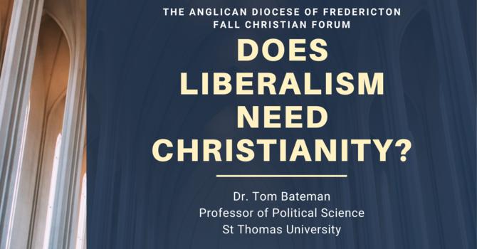 Webinar: Does Liberalism need Christianity? image