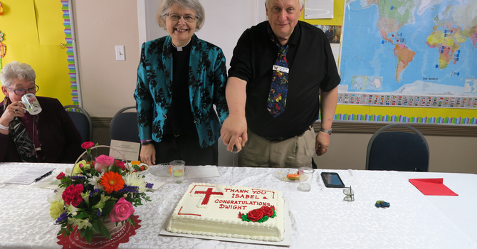 Church Celebrates Ministry of Canon Isabel Healy Morrow image
