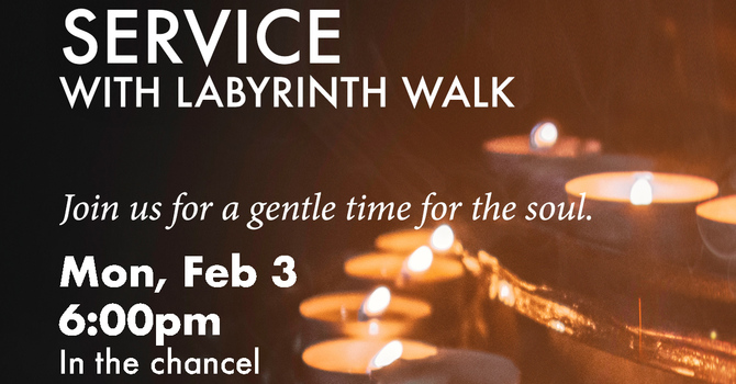 Taizé Service with Labyrinth Walk