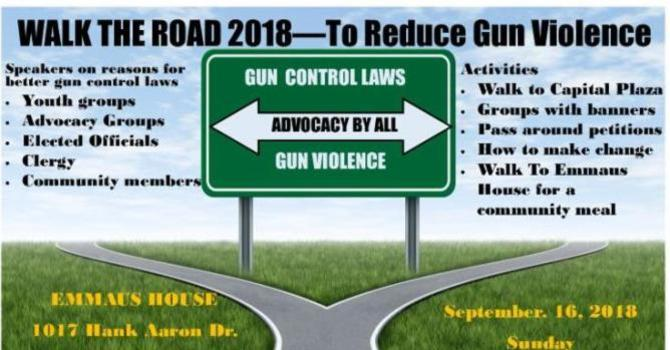 Walk the Road - To Reduce Gun Violence image
