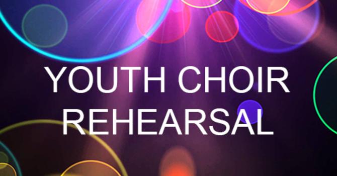 Youth Choir Rehearsals