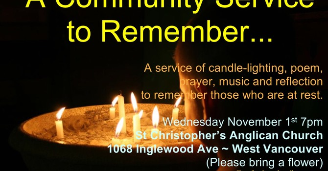 All Saints' Day Service for the Community