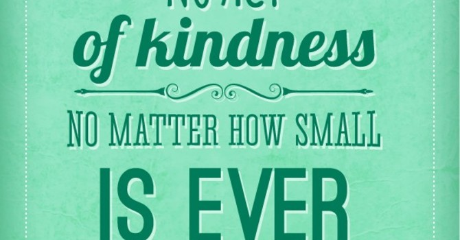 The Power of Random Acts of Kindness image