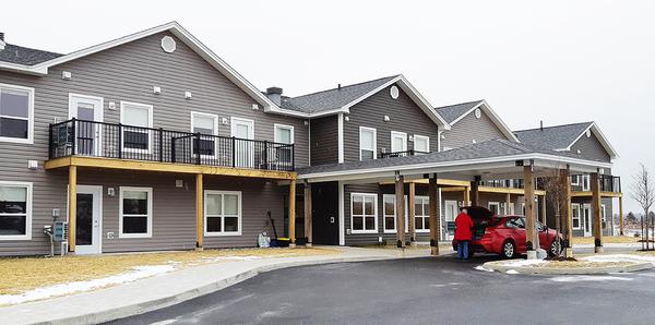 Parish celebrates opening of seniors' housing complex