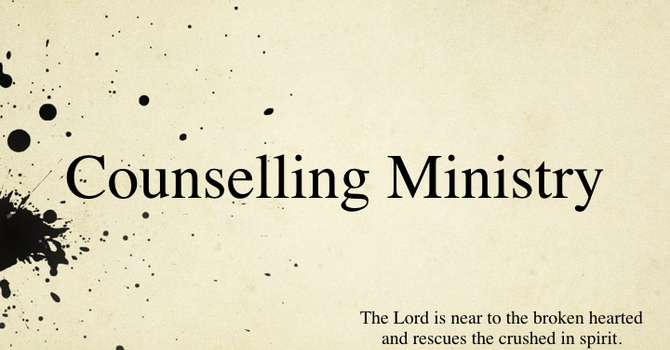 Counselling Ministry