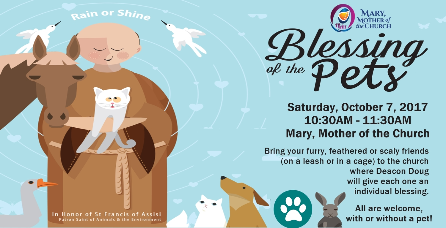 Blessings of the Pets | Photos | Mary, Mother of the Church
