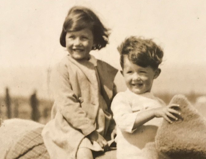 Margaret and brother John