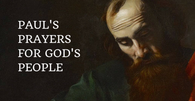 Prayers of Paul for God's People image