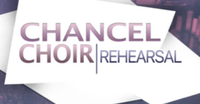 Chancel Choir Rehearsals