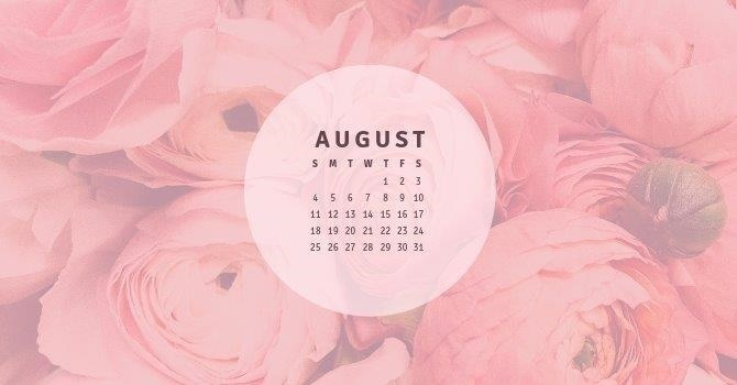 August - What's Coming This Month?