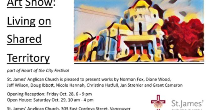 Art Show - Living on Shared Territory
