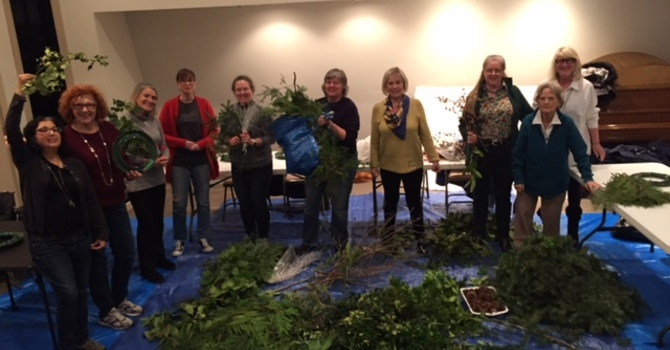 2015 wreath making