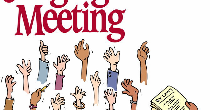NEWS:  Congregational Special Meeting image