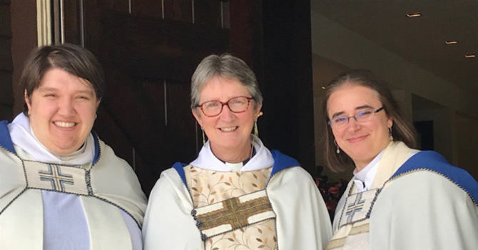 The Reverend Christine Rowe Celebrates 25 Years of Ordination to the Priesthood image