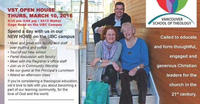 Vancouver School of Theology - Open House