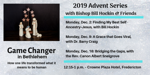 Advent Talks - one more week!