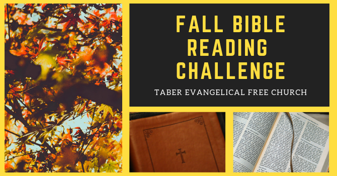Fall Bible Reading Challenge image