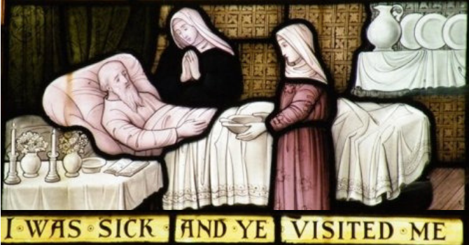 """""""I was sick and you visited me"""": VGH Chaplaincy Ministry image"""