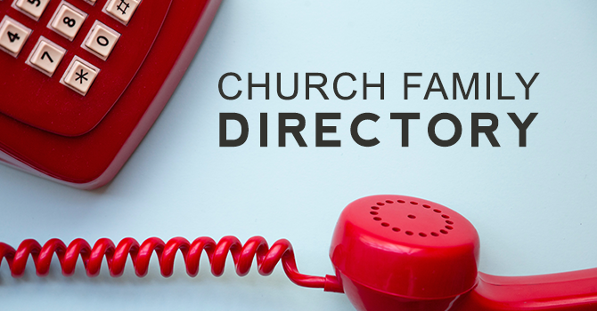 Church Family Directory