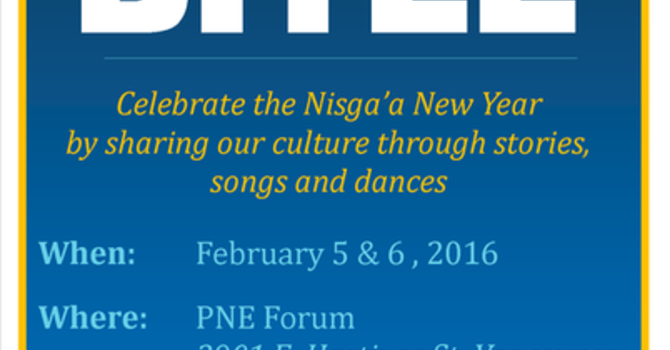 Nisga'a New Years Celebration - Hobiyee