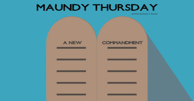 Cancelled: Maundy Thursday Service