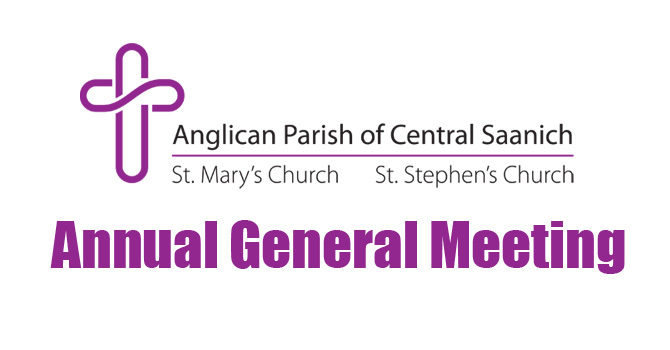 Annual General Meeting - Parish of Central Saanich