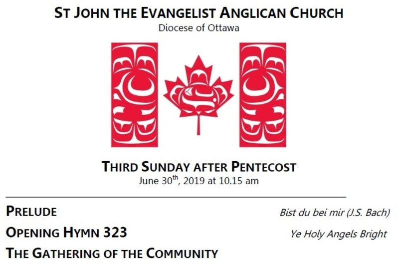 The Third Sunday after Pentecost
