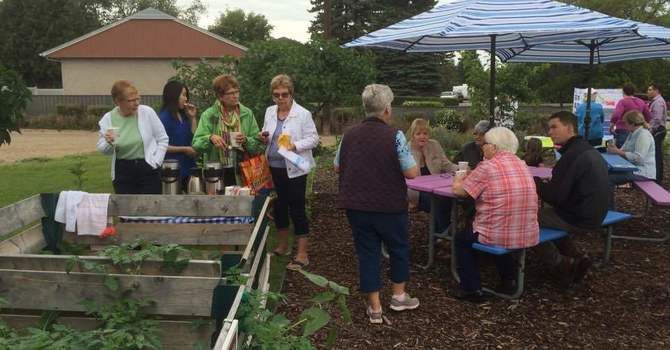 Why Would A Church Host a Community Garden? image