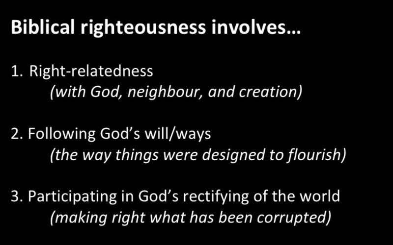 #Righteousness
