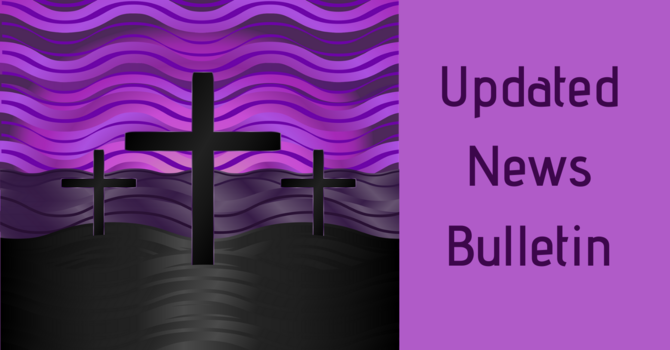 Updated News Bulletin image
