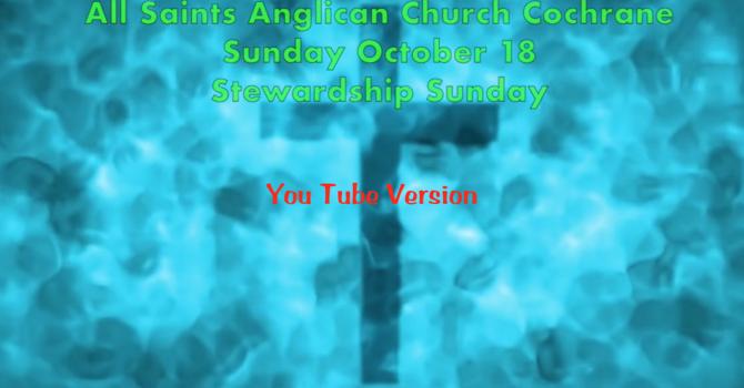 Eucharist Service October 18 - You Tube version