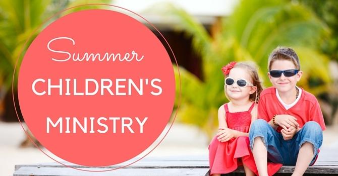 Summer Children's Ministry image