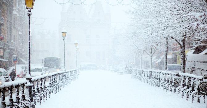 Snow Impacts Parish Life image