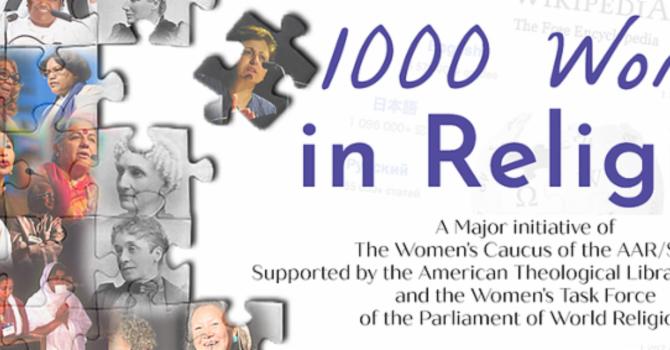 1,000 Women in Religion Edit-a-thon