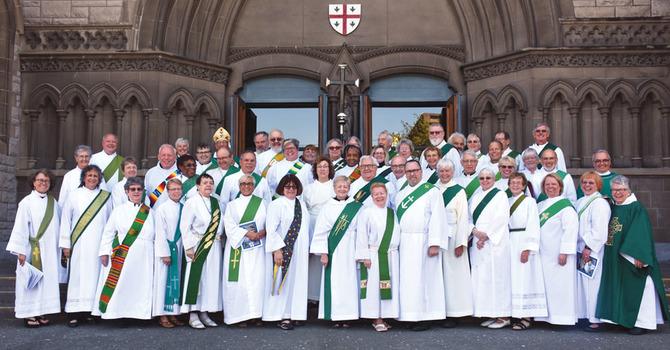 "A ""Disturbance of Deacons"" image"