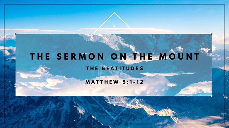 Sermon on the Mount Part 2