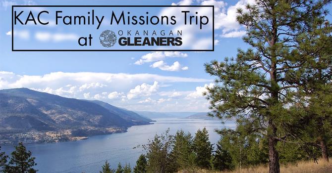 KAC Family Missions Trip