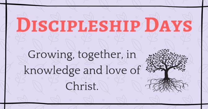 Discipleship Day - Scripture