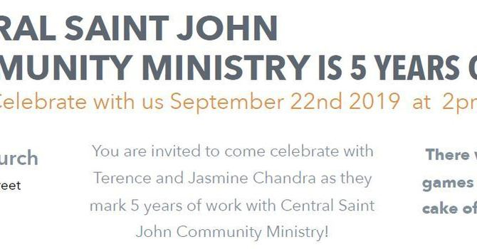 Central Saint John Community Ministry turns 5