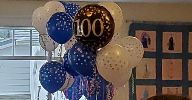 Happy 100th Birthday  Connie Isherwood image