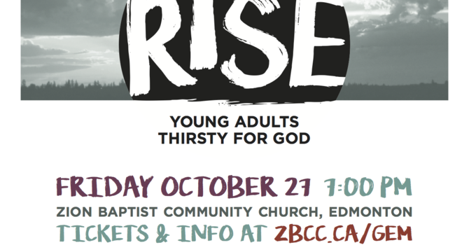 RISE Young Adults Event
