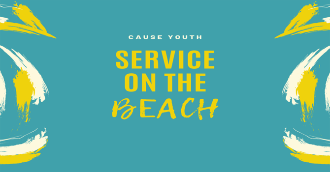 Youth Worship Service on the Beach
