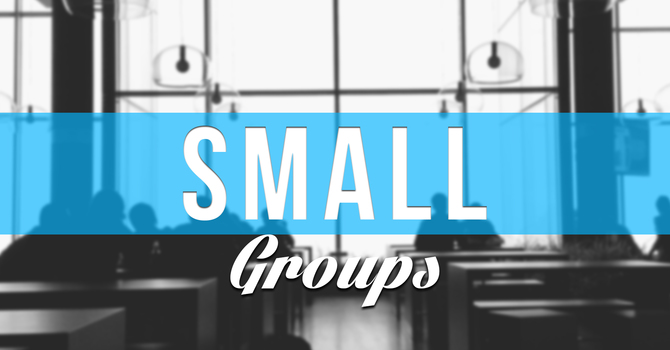 Join A Small Group image